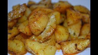 Картофельные дольки в духовке!!!
