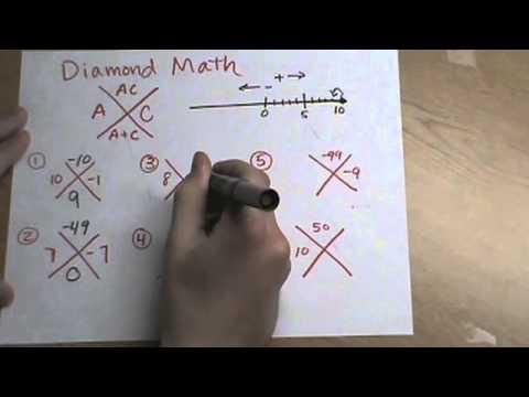 Diamond Math Introduction