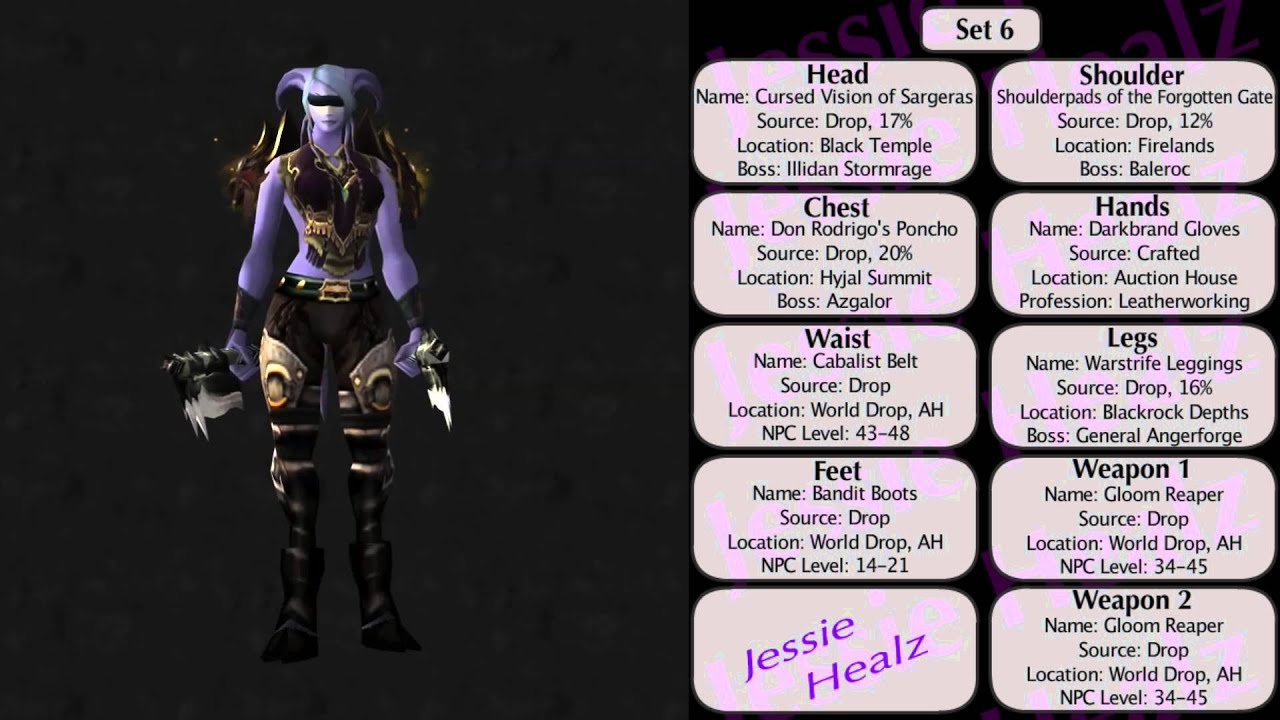 Jessiehealz 10 Sxc Monk Transmog Sets 3 World Of Warcraft Youtube