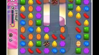 Candy Crush Saga Level 208 - 3 Stars No Boosters