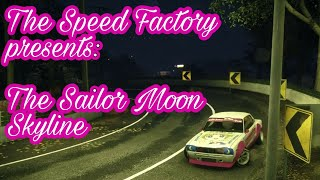 Need For Speed 2015 Sailor Moon Skyline Bosozoku Style Cinematics