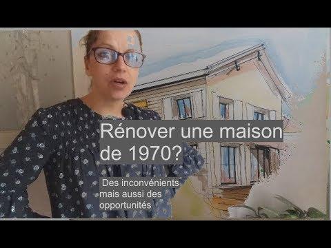 Envisagez vous une renovation maison 1970? - YouTube