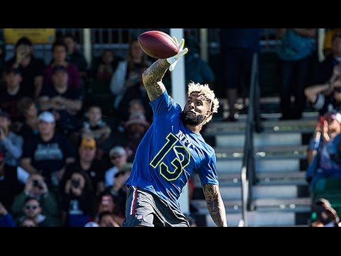 lowest price a6a15 92747 Odell Beckham Jr. mic'd up at Pro Bowl Practice (2017)