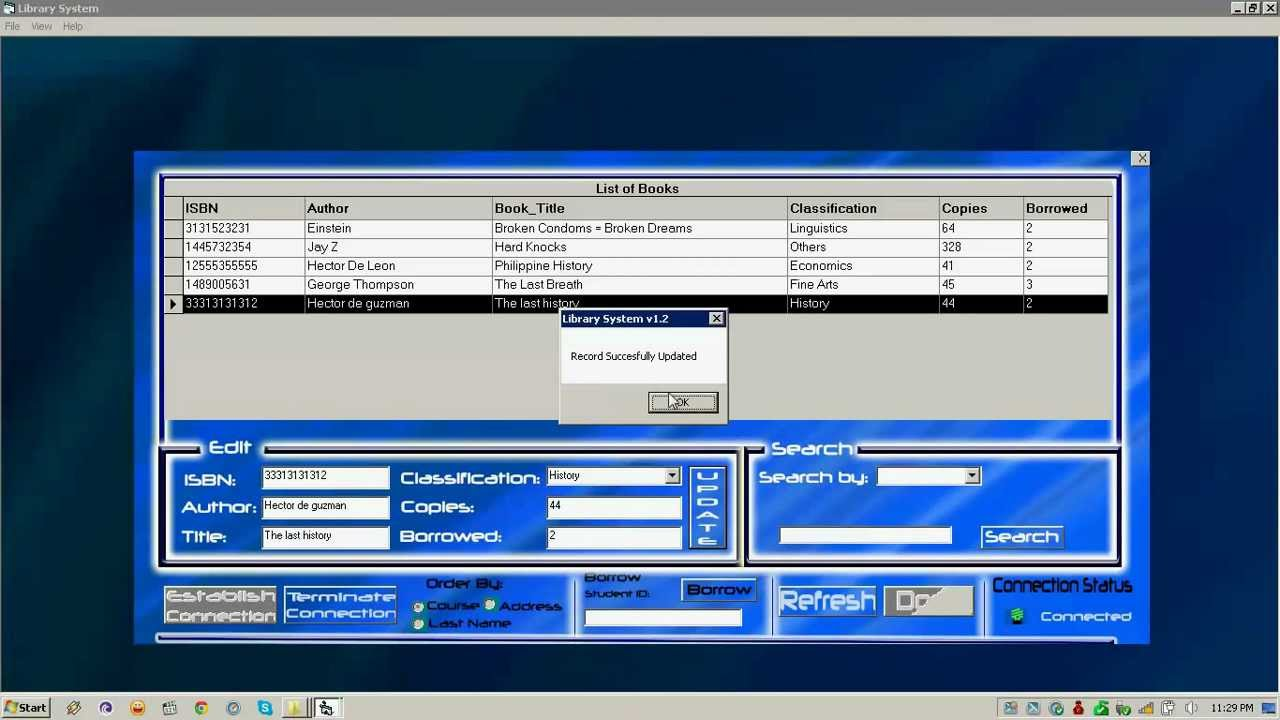 enrollment system visual basic program Computerized enrollment system in visual basic we all know that visual basic will only run on windows platform this is a version of the system which will only run on windows operating system.