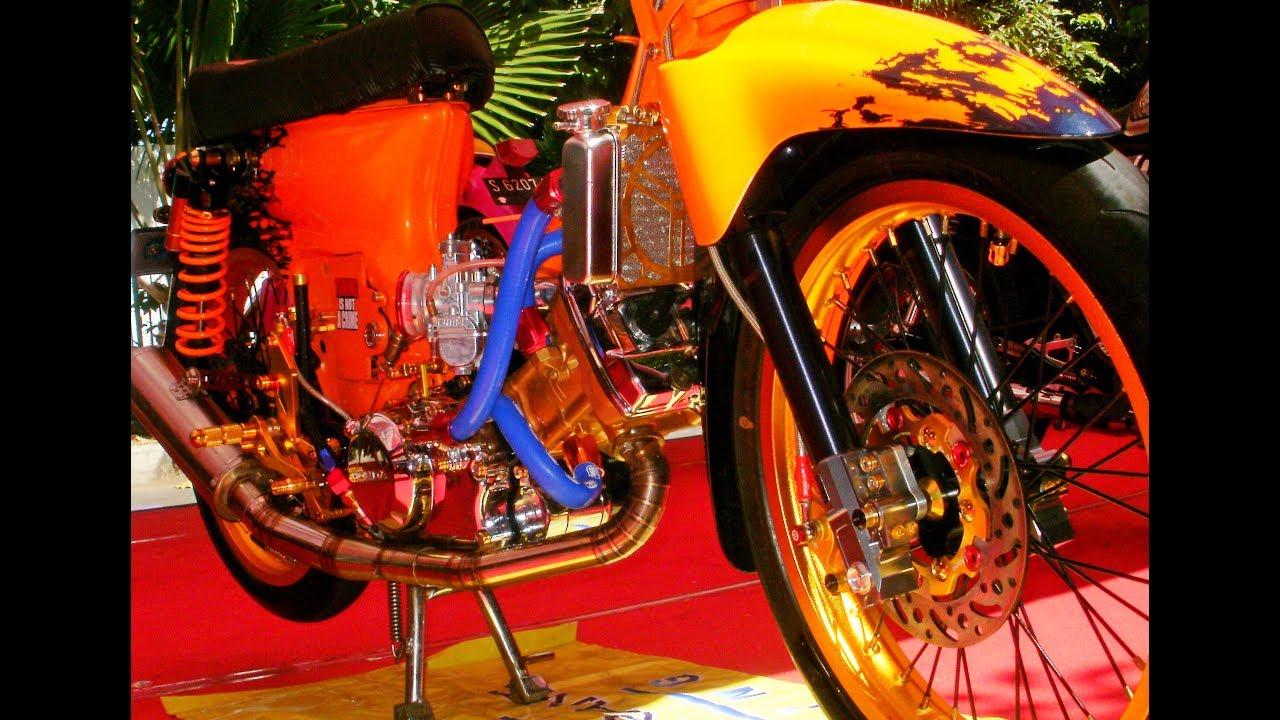Kontes Mesin Jahat C70 Racing Modifikasi Honda Ulung Mesin Cbr