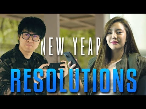 NEW YEAR'S RESOLUTIONS YOU SHOULD MAKE!