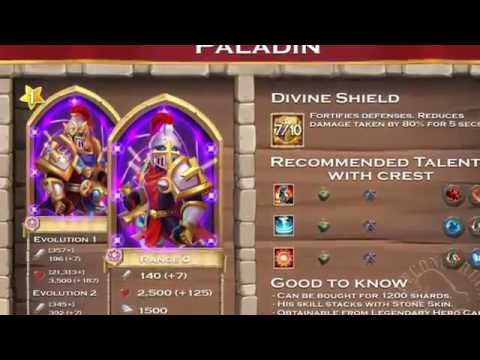 Castle Clash:best Talent And Crest For Heroes