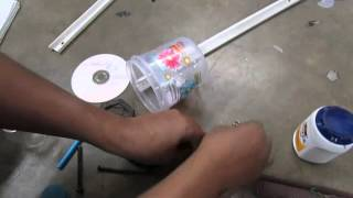 How to Use Waste Materials/ Art and Craft / Make Aktara part 1of 2