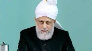 (English) Friday Sermon 29th April 2011 Faith inspiring stories of new converts to Islam Ahmadiyya