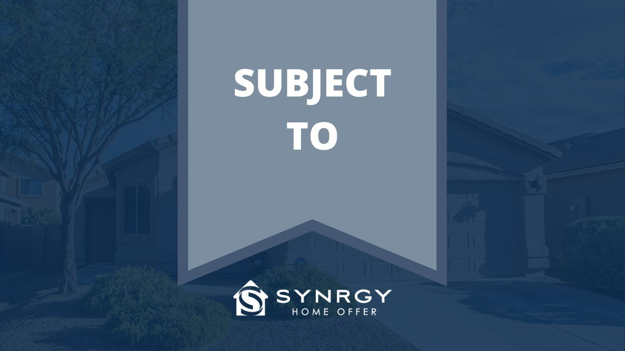 Sell Home Subject To | We Buy Houses For Cash | Synrgy Home Offer | Tucson Arizona