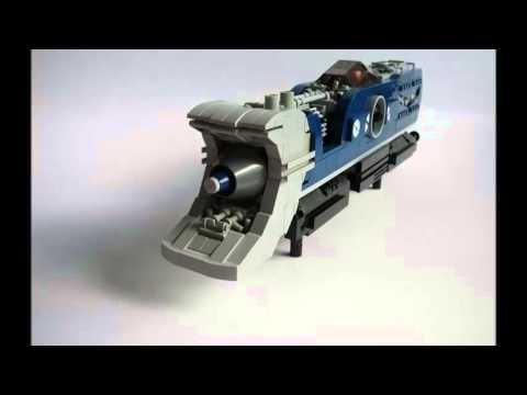 Lego star wars train youtube - Croiseur interstellaire star wars lego ...