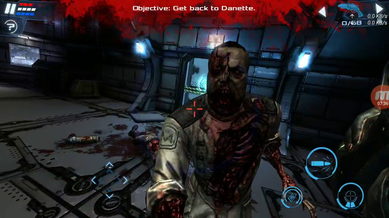 Dead Effect 2 Android Walkthrough - Gameplay Part 1 - Chapter 1: Cyber Awakening - YouTube