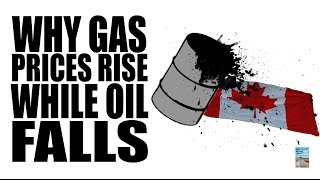Why Gas Prices Can RISE Even When Oil FALLS!