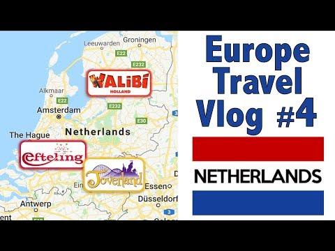 Europe Travel Vlog #4 - The Netherlands