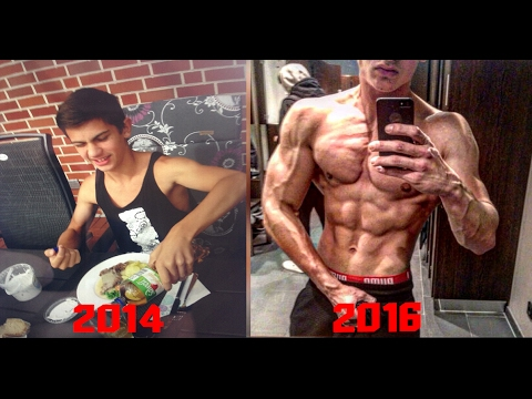 17 Years Old 2 Years Body Transformation - Skinny to Fit - Muscular ...