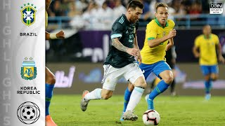 Download Brazil 0-1 Argentina - HIGHLIGHTS & GOALS - 11/15/19 Mp3 and Videos