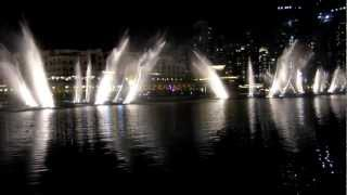 Dubai Fountain - Jacky Cheung (張學友) - Wen Bie (吻別)