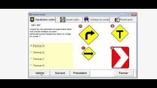 Signalisation routière la saaq teste 120/200