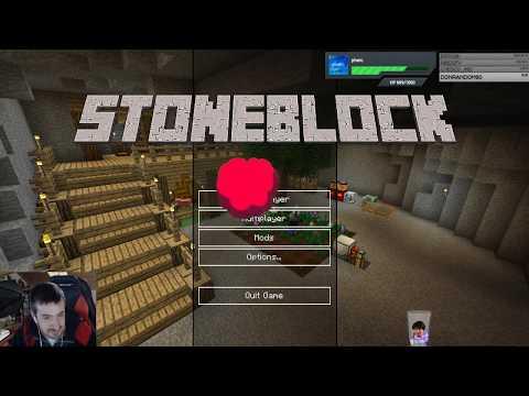 UnderGround Block Minecraft Mods - con Ch77 Avanzando - Cap.5