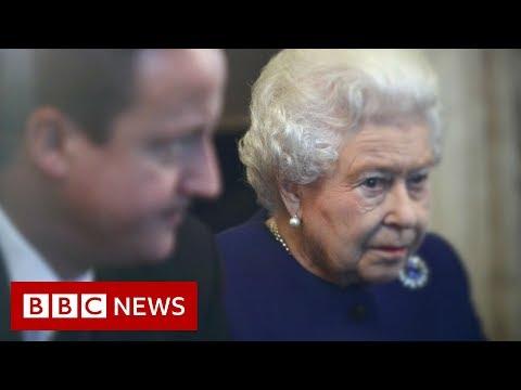 David Cameron: Palace