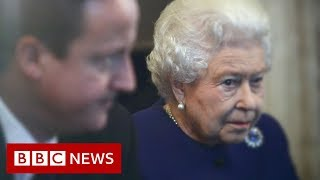 David Cameron: Palace 'displeasure' at former PM - BBC News