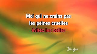 Karaoké Le temps des cerises - Yves Montand *