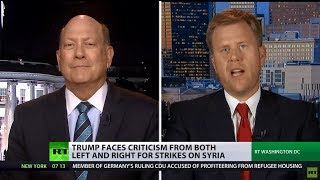 \'Supporters disappointed\': Trump faces criticism from both left & right over strikes on Syria