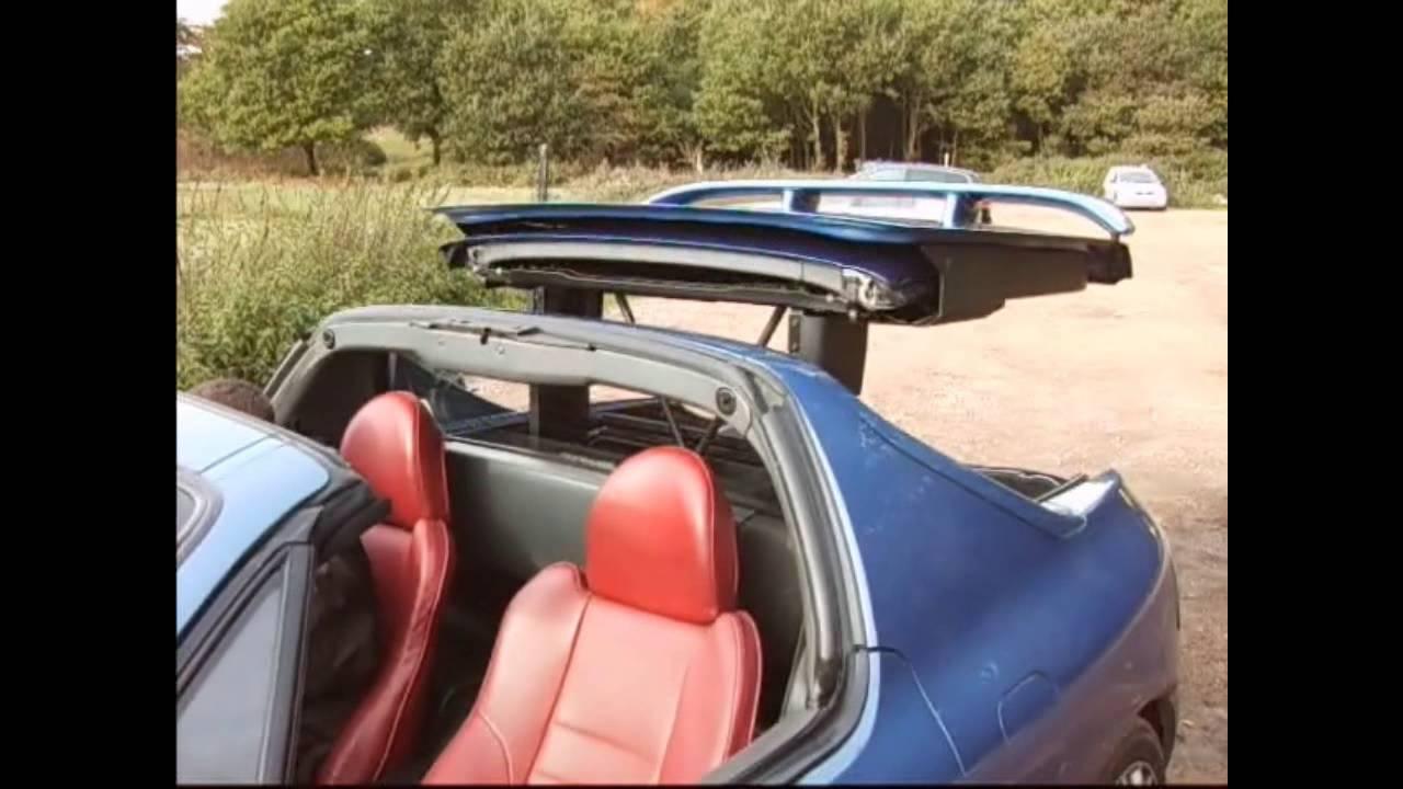 Honda Crx Del Sol Transtop Roof Youtube