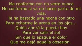 Quién Pablo Alborán letra