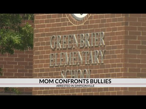 South Carolina mom arrested after confronting son's bullies