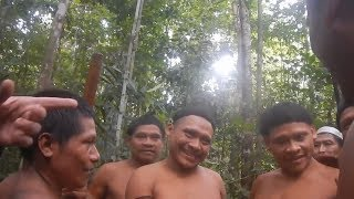 Brothers from isolated Amazonian tribe reunited after years apart