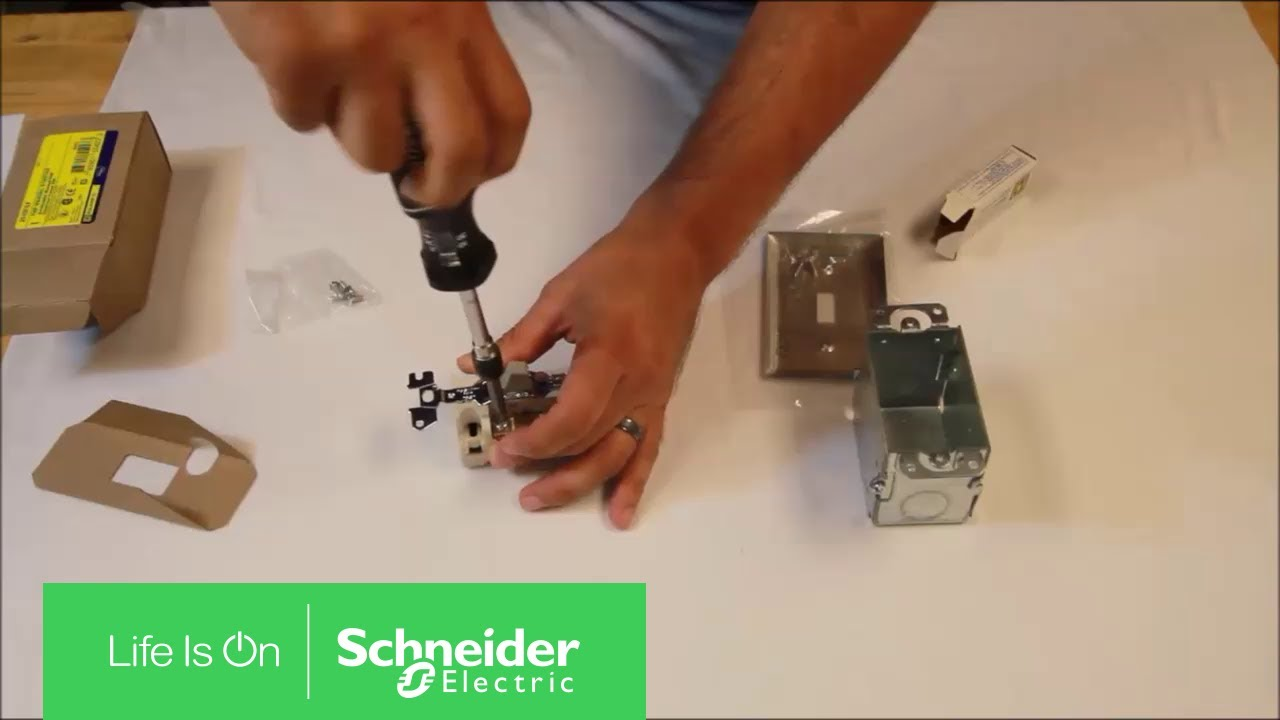 Installing Thermal Units Resetting Nema Class 2510f Manual Starters Schneider Electric Support Youtube