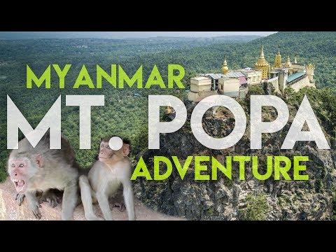 Myanmar's Volcano Monastery! | MT. POPA Adventure