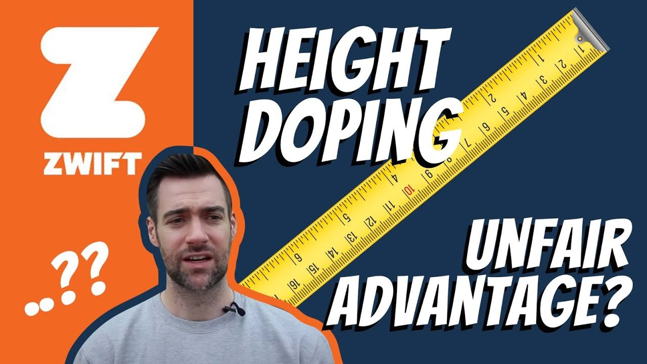 Height doping on Zwift - TrainerRoad / Forum