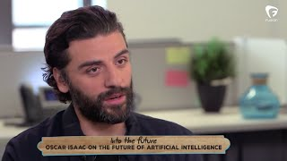 "Oscar Isaac talks futurism, robots, and rocking a ""very virile"" beard"