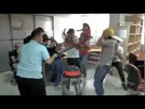 Harlem Shake dans System Dz sur Dzair TV