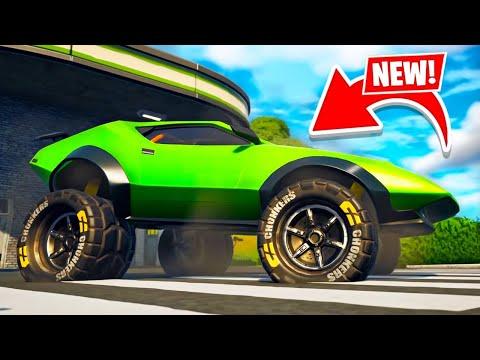 New OFF-ROAD CARS UPDATE in Fortnite! (Season 6)