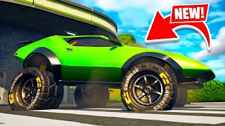 New OFF-ROAD CARS UPDATE in Fortnite! (Season 6)