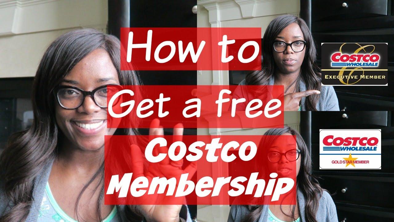 How to get a free Costco Membership  YouTube
