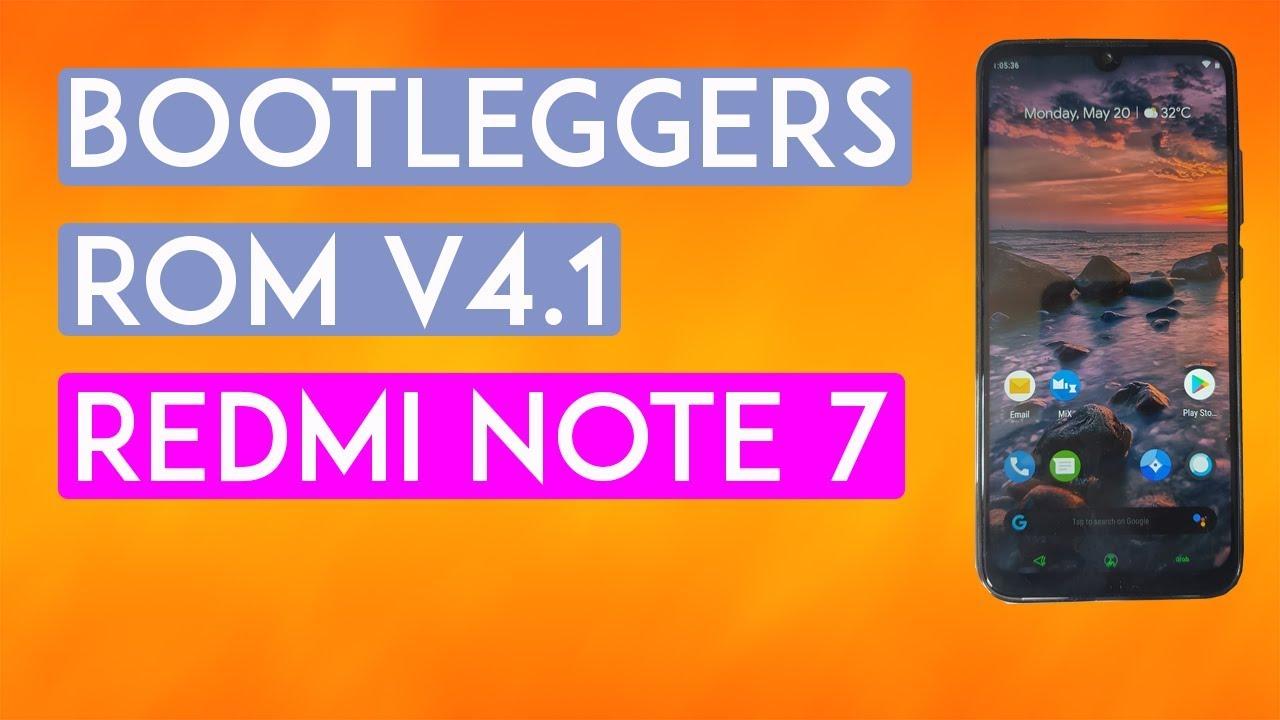 Cara Install Custom Rom  Redmi Note 7 Lavender