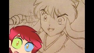 Como dibujar a Inuyasha - How to draw Inuyasha