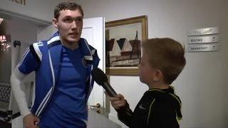 Juniorreporter til AC: Hvordan er Mourinho?
