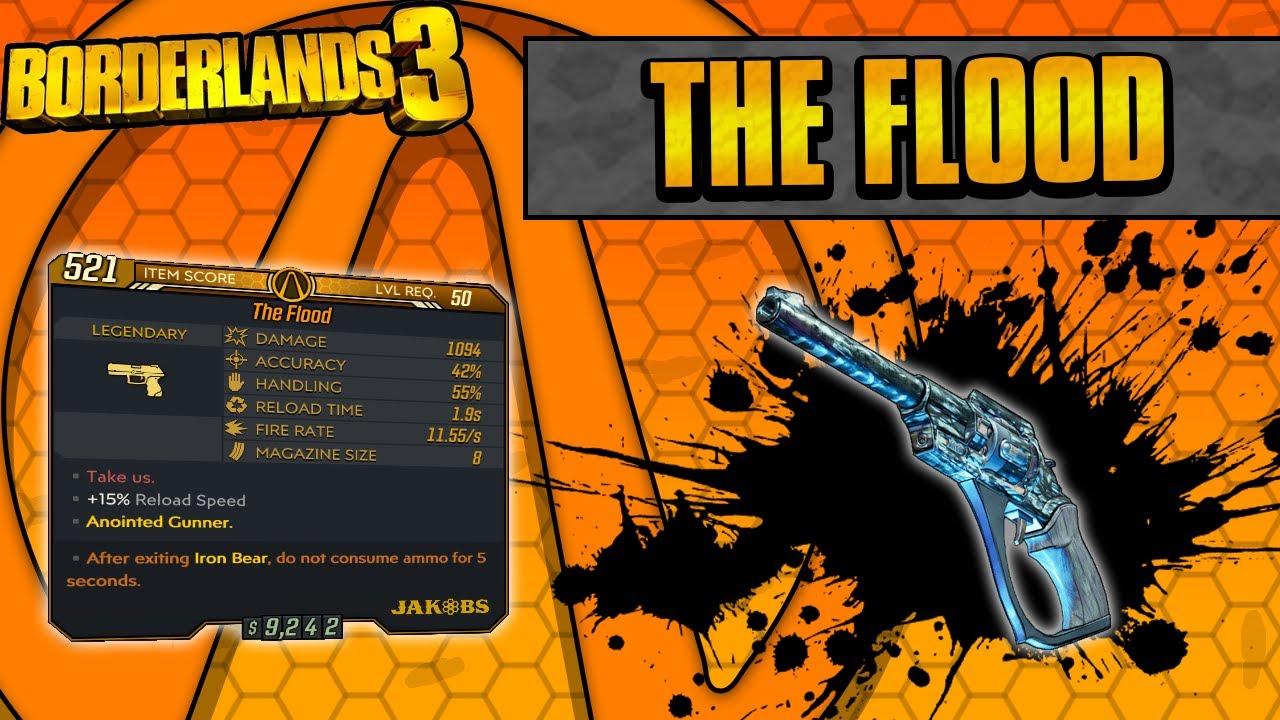 Borderlands 3 | Flood Legendary Weapon Guide (Full Auto Jakobs!) thumbnail