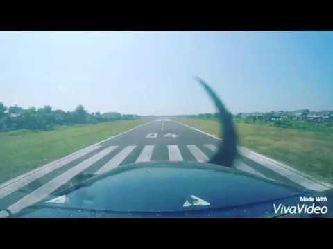 Approaching Runway - Alfa Flying School