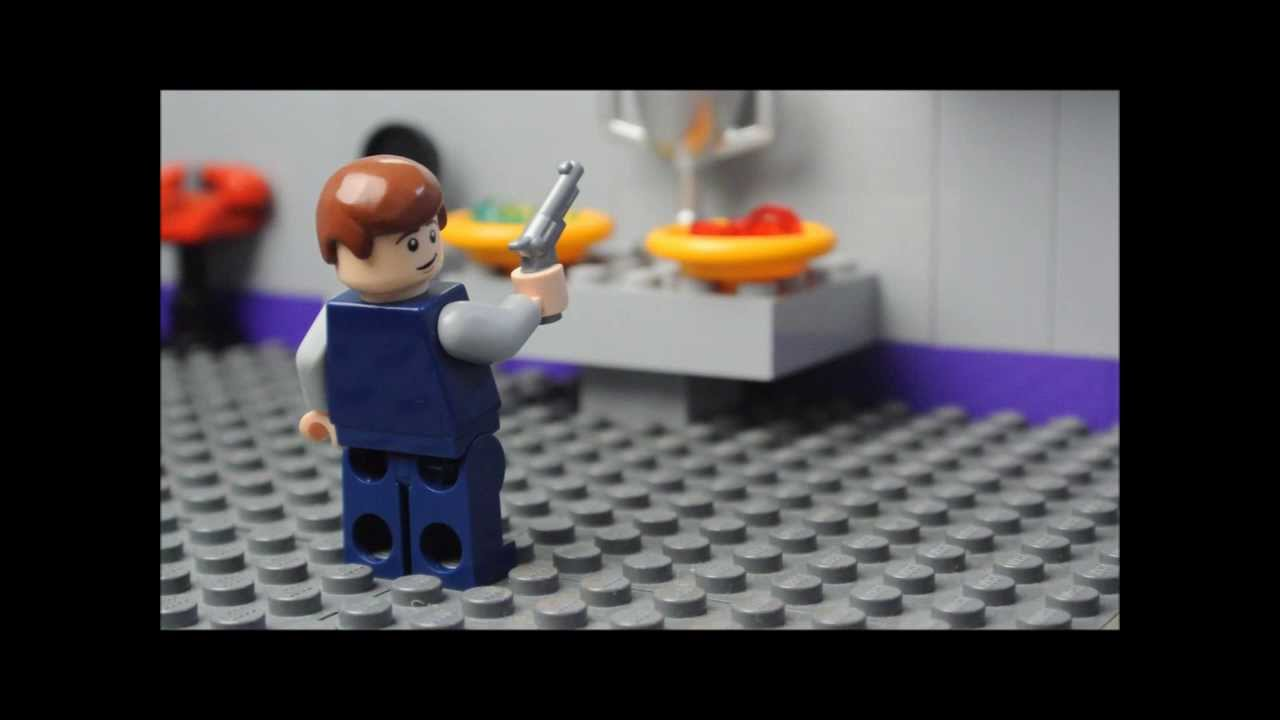 how to make a lego shield agent
