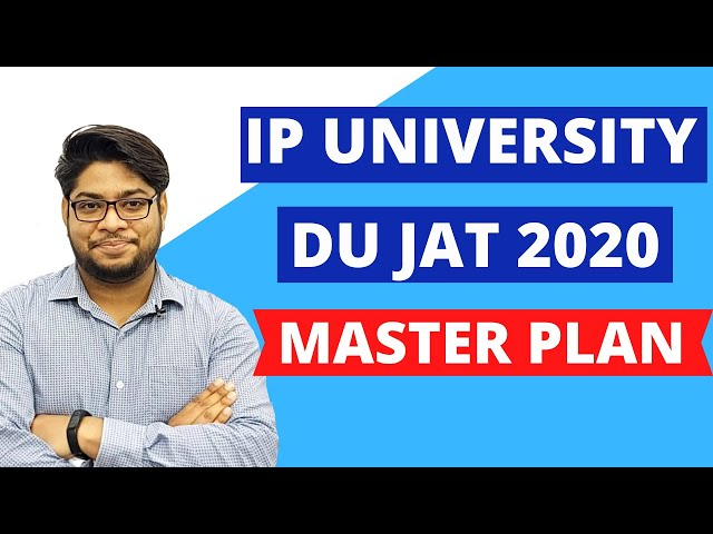 MASTER PLAN IP university Delhi University Entrance Exam Study Tips and Tricks