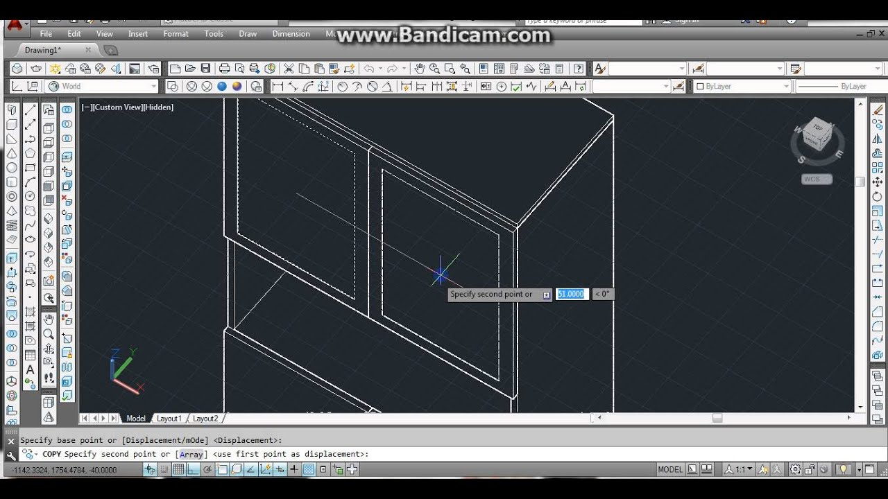 Autocad Wardrobe Youtube