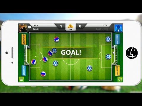 Обзор игры Soccer Stars. Пошаговый онлайн футбол от Miniclip!:)