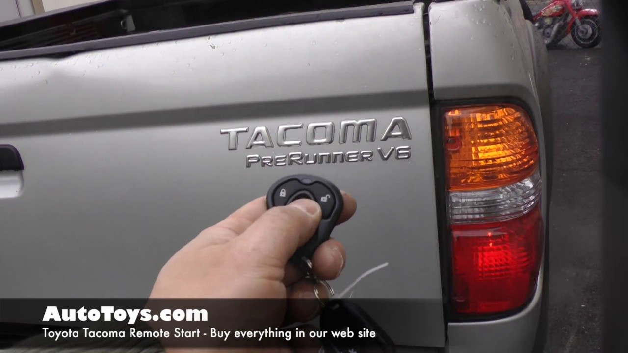 hight resolution of toyota tacoma 4runner remote start and installation by autotoys