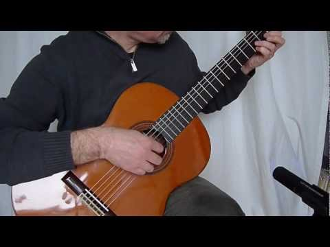 Asturias AST-50 Classical Guitar Sound Sample